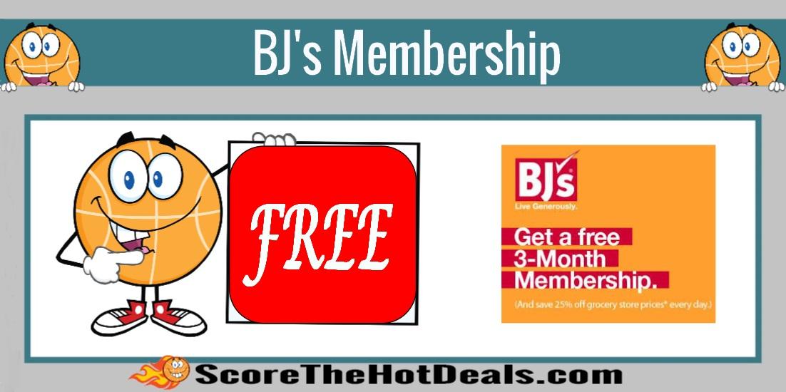 3 Month BJ's Membership
