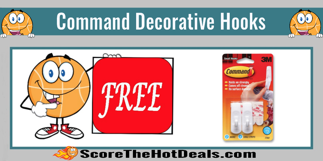 Command Decorative Hooks Coupon Deal.