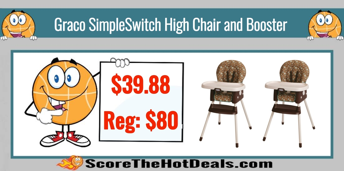 Graco SimpleSwitch High Chair and Booster