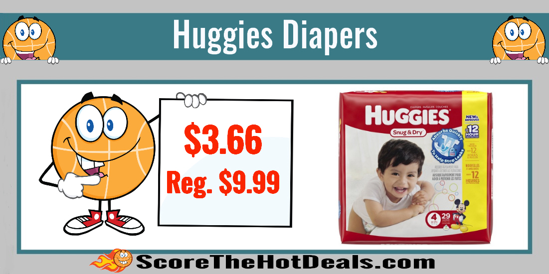Huggies Diapers Coupon Deal