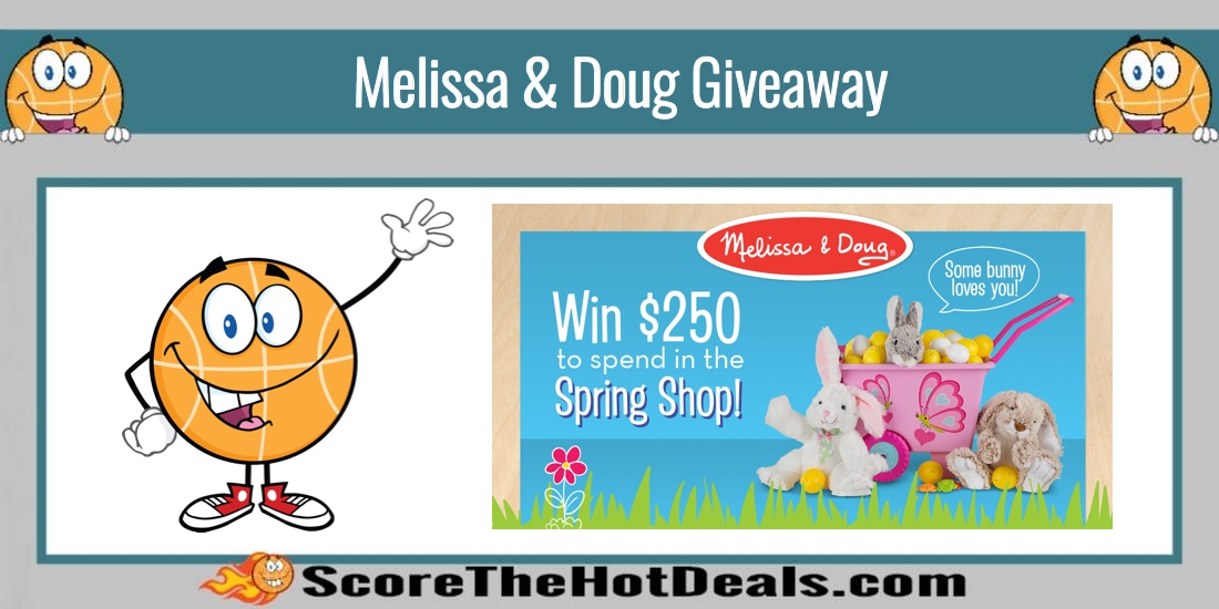 Win a $250 Melissa & Doug Gift Card