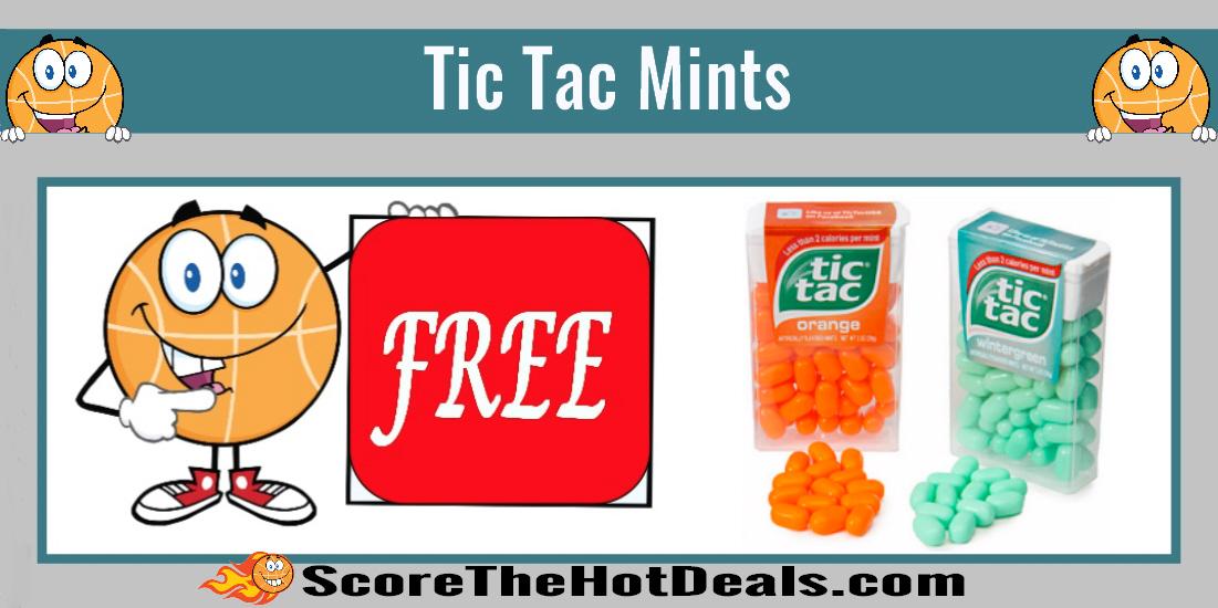 Tic Tac Mints Coupon Deal