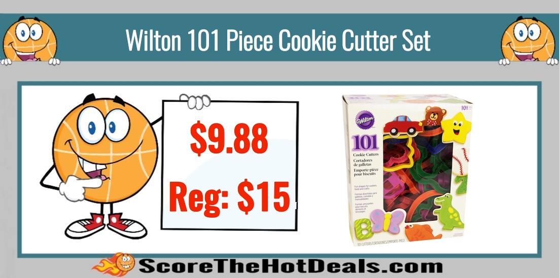 Wilton 101 Piece Cookie Cutter Set