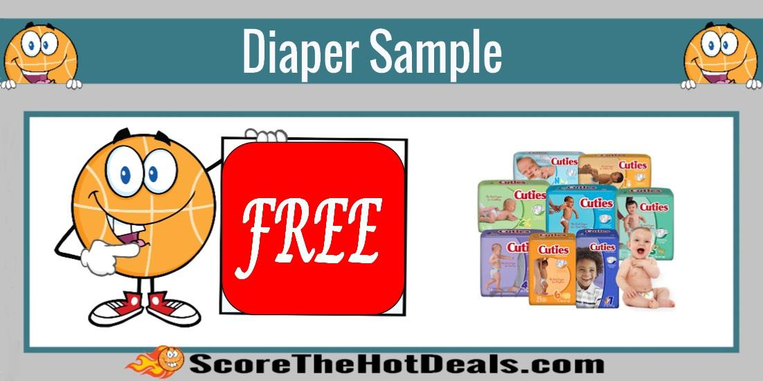 Cuties Diaper Sample