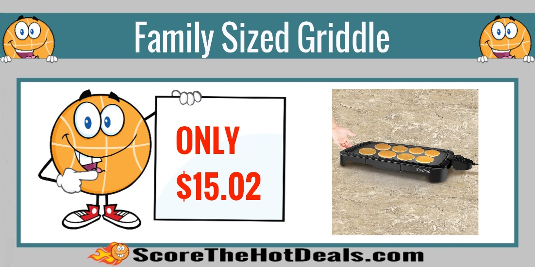 Family Sized Electric Griddle