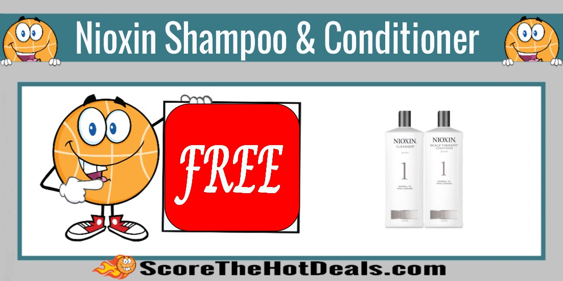 NIOXIN Shampoo & Conditioner Sample