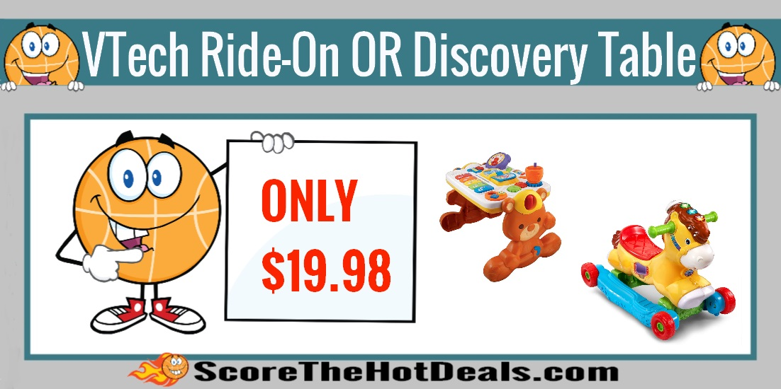 VTech Ride-On Pony OR Discovery Table