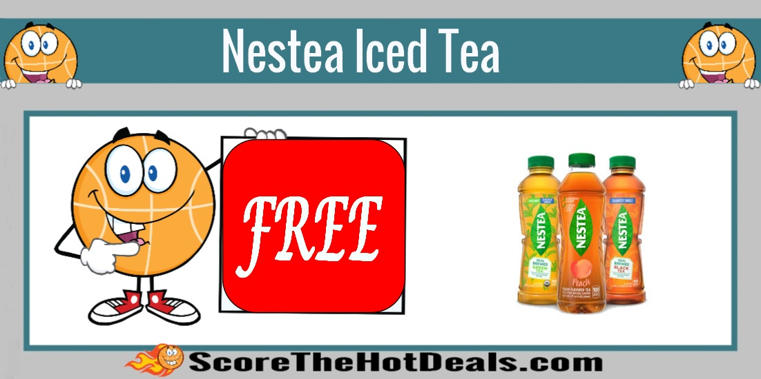 Bottle Of Nestea Iced Tea