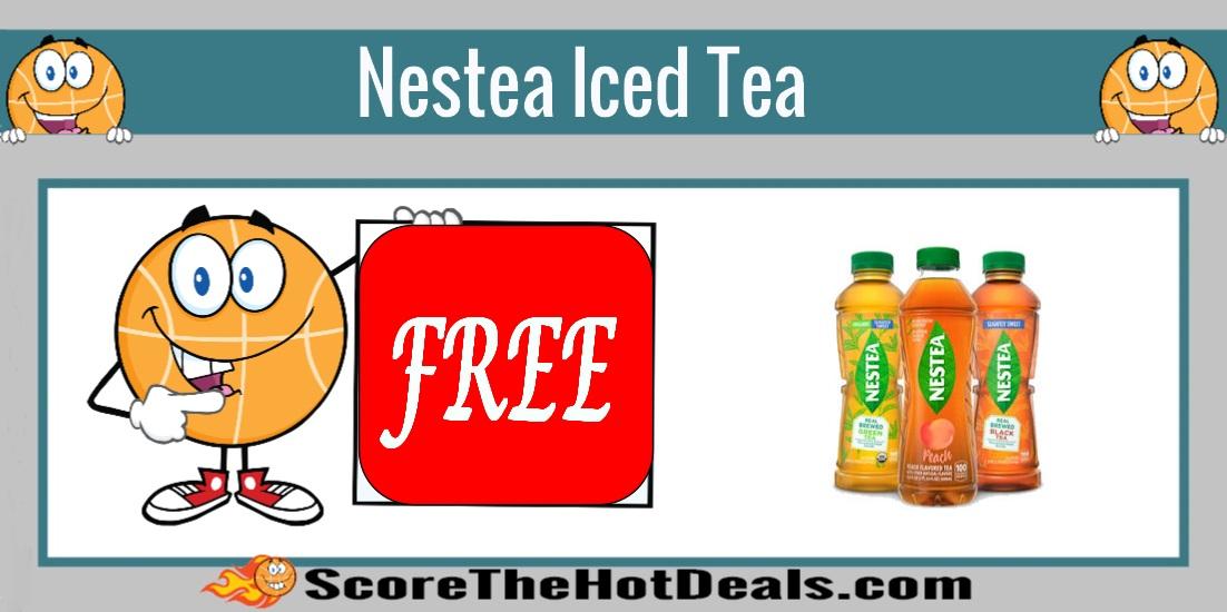 Bottle Of Nestea Iced Tea