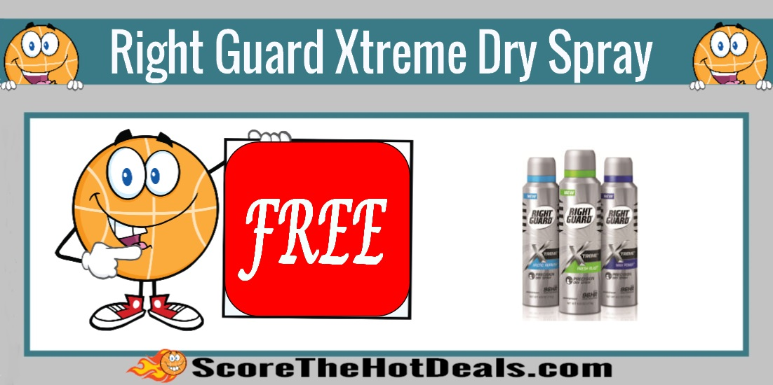 Right Guard Xtreme Dry Spray