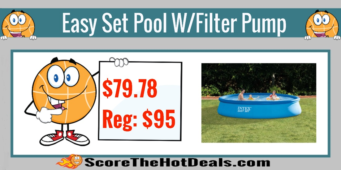 Easy Set Swimming Pool with Filter Pump