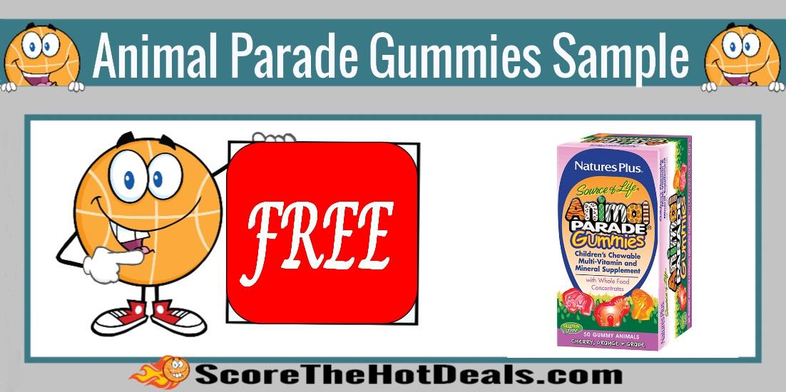 Natures Plus Animal Parade Gummies