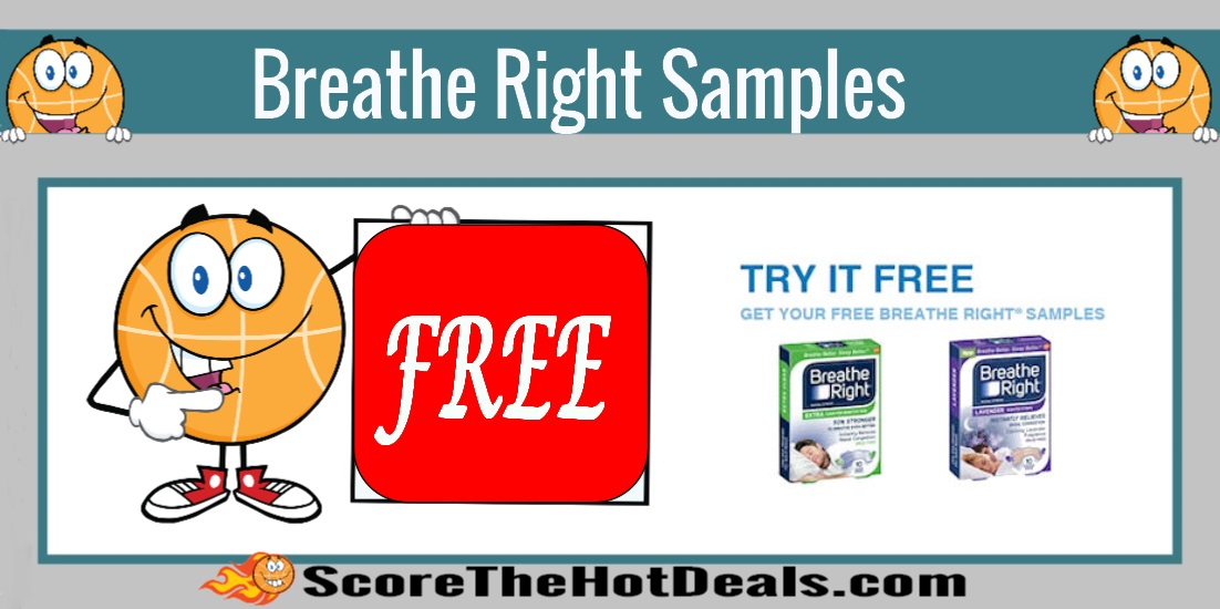 Breathe Right Nasal Strips Sample