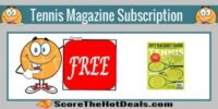 **FREE** Tennis Magazine Subscription!