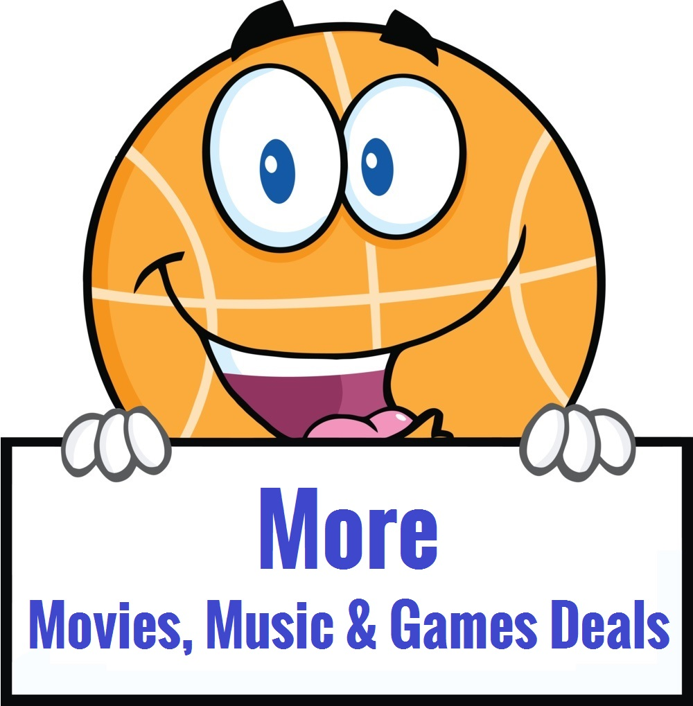 more music, movies and games deals