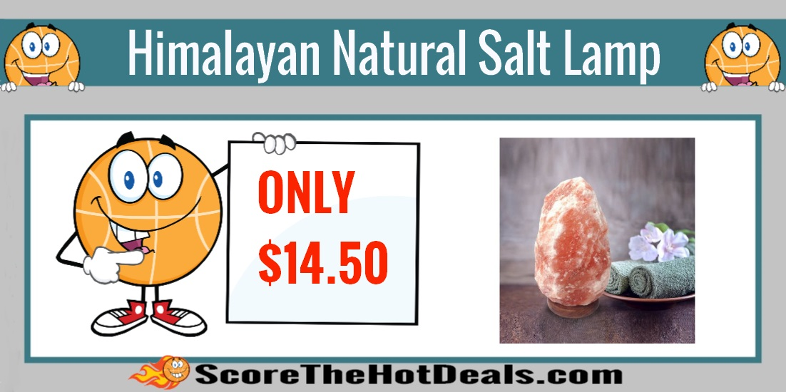 Himalayan Natural Salt Lamp - ONLY USD 14.50! - Score The Hot Deals