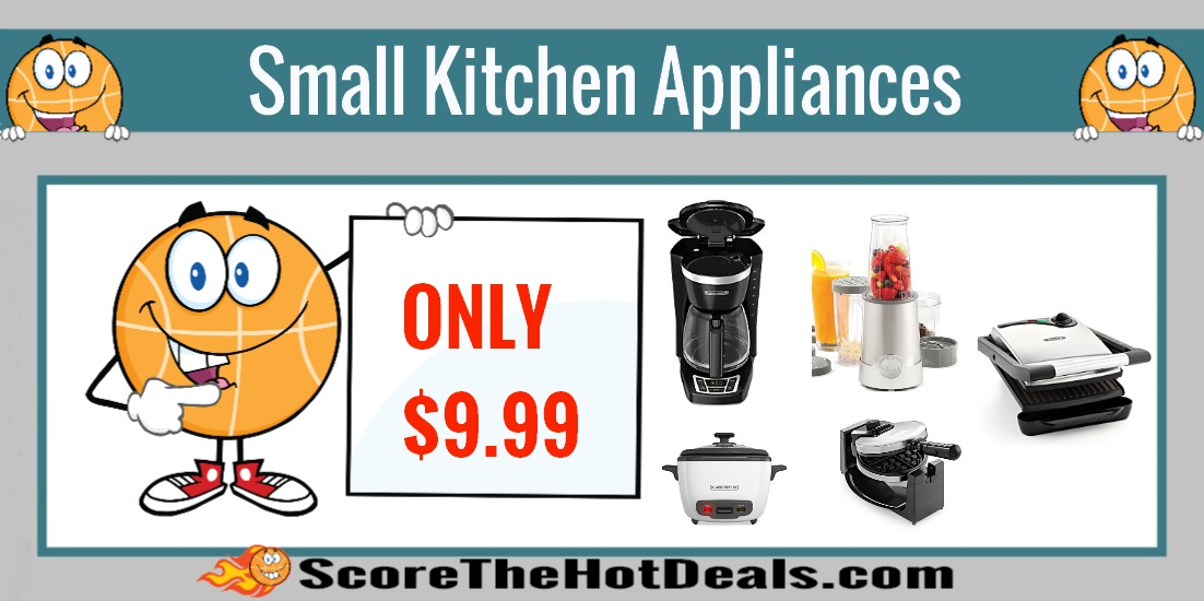 Small Kitchen Appliances - ONLY $9.99 After Rebate! - Score The ...