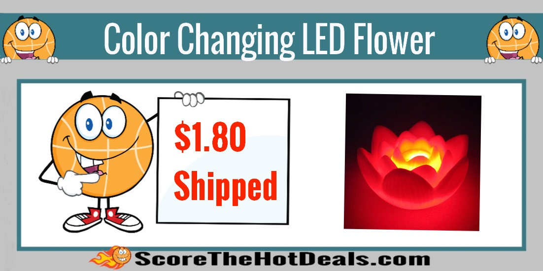 Color Changing LED Flower