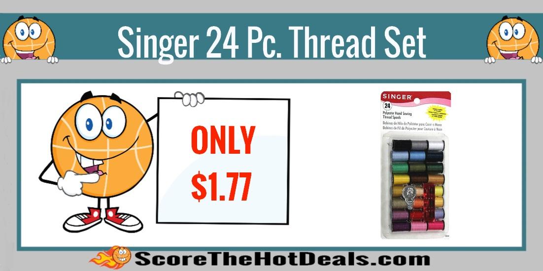 Singer 24 Piece Thread Set
