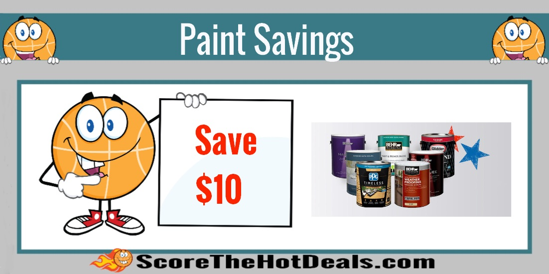 Save on paint stain at the home depot score for Home depot memorial day paint rebate