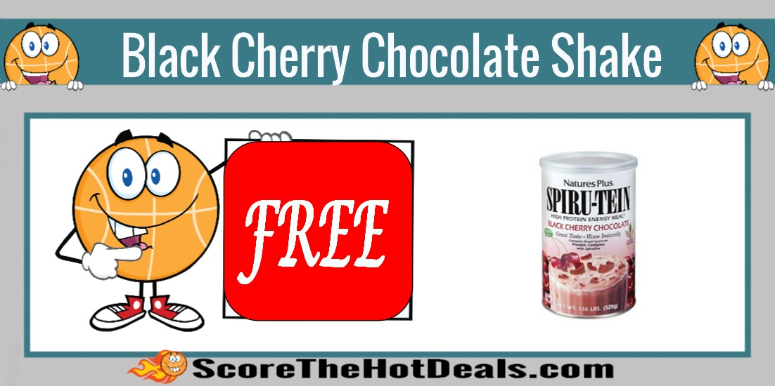 Black Cherry Chocolate SPIRU-TEIN Shake Sample