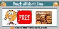 Possible FREE Bagels All Month Long - Panera Rewards Members!