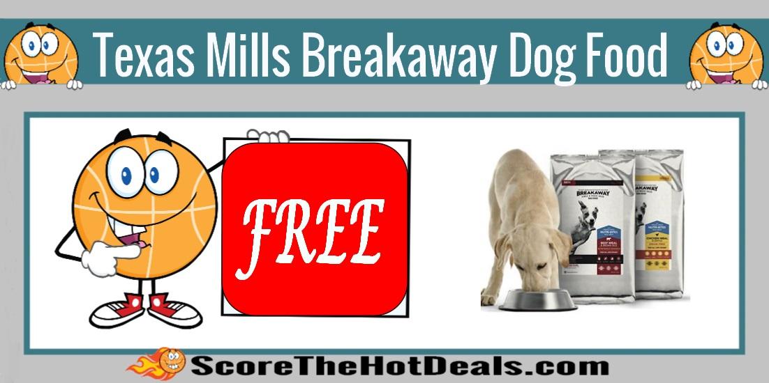 Texas Mills Breakaway Dog Food Sample
