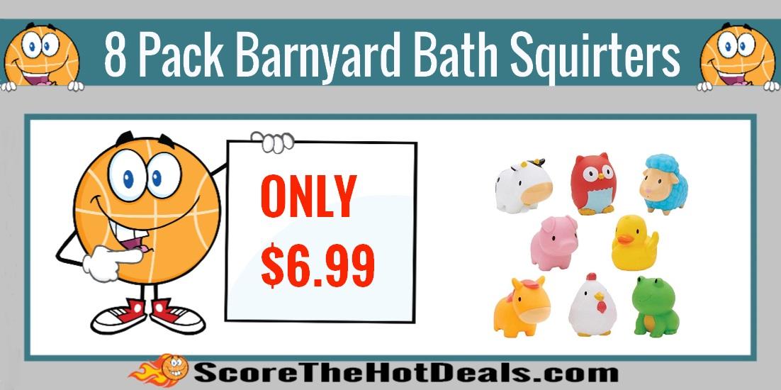 Munchkin Barnyard Bath Squirters