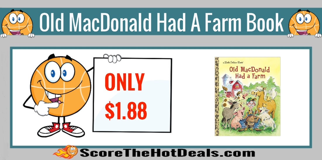 Old MacDonald Had a Farm Little Golden Book