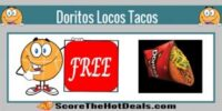 **FREE** Doritos Locos Taco On Wednesday - At Taco Bell!