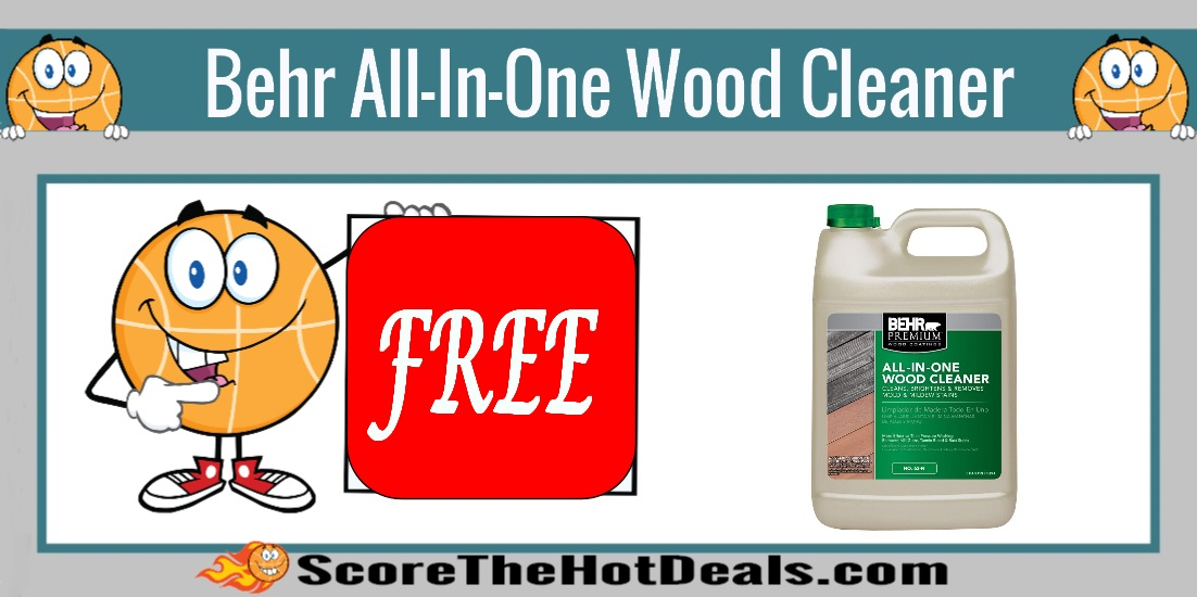 Free Behr Stain After Rebate At Home Depot More: *FREE* Behr All-In-One Wood Cleaner