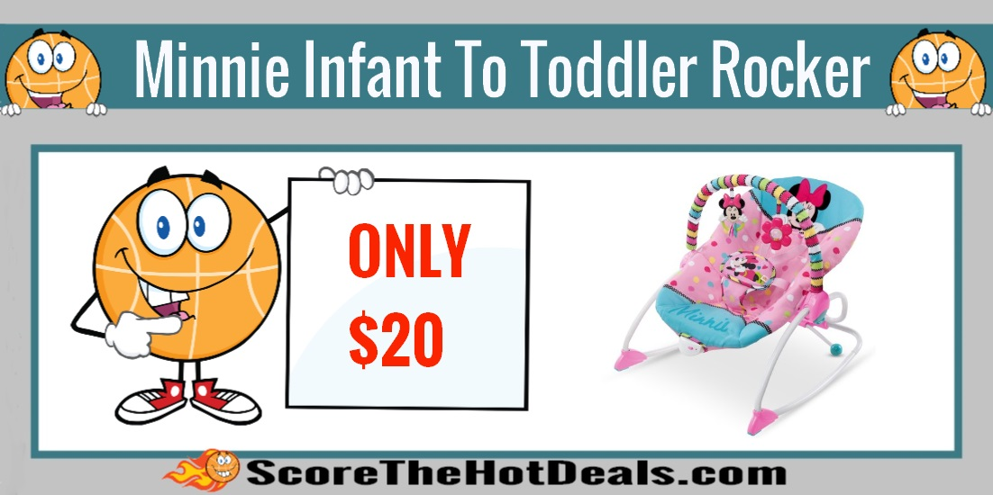 Minnie Mouse Infant To Toddler Rocker
