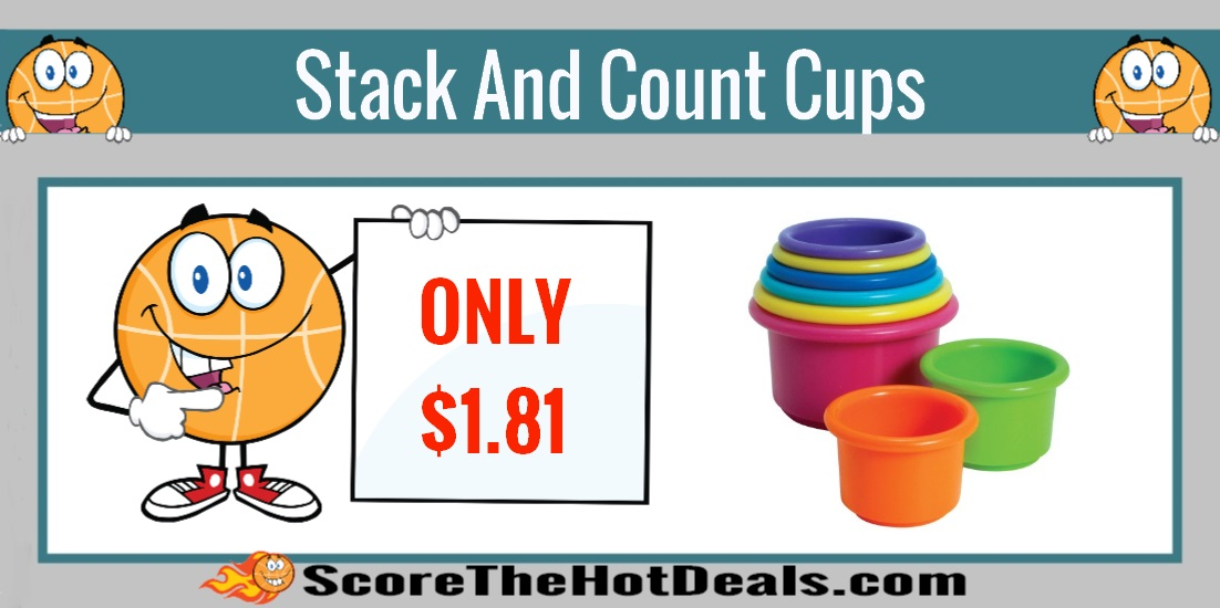 First Years Stack And Count Cups