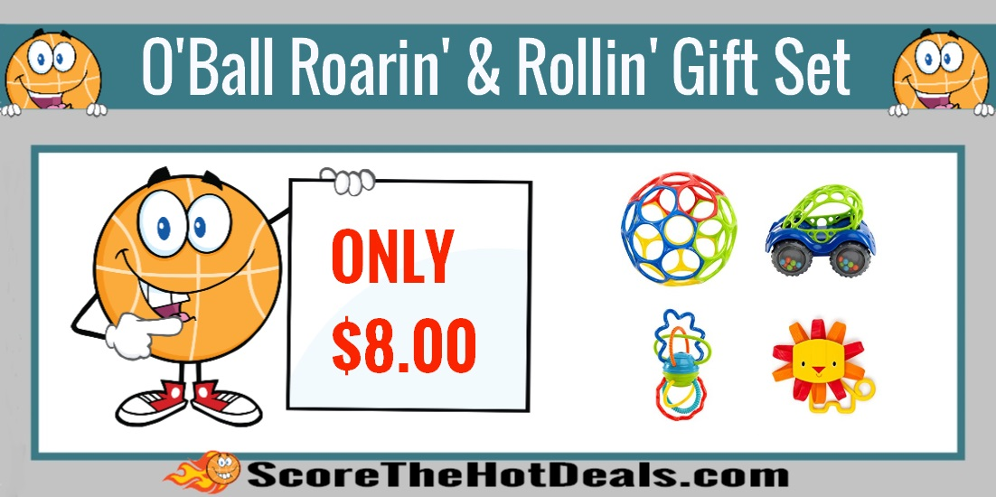 O'ball Roarin' And Rollin' Gift Set