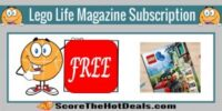 *FREE* LEGO Life Magazine Subscription!