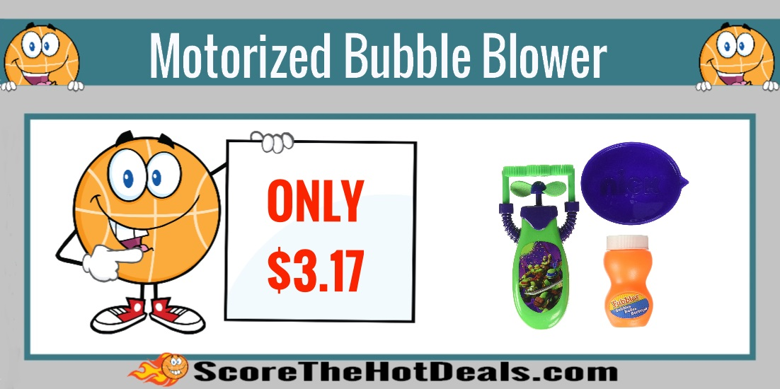 Motorized Bubble Blower