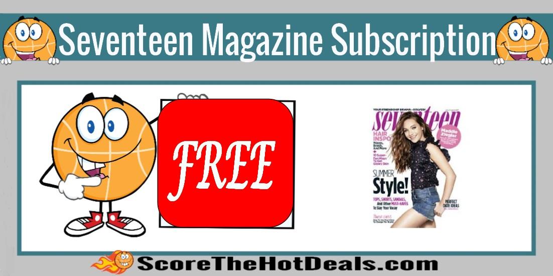seventeen magazine subscription