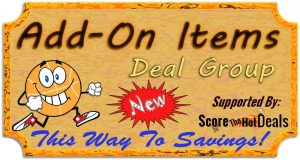 Add-on items deal group