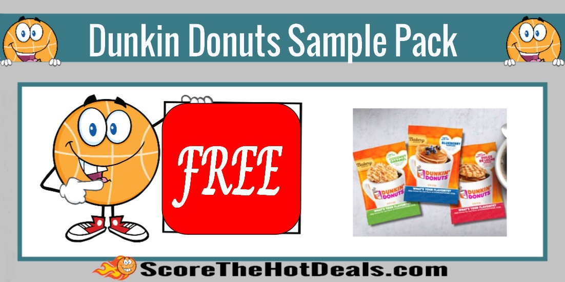 Dunkin Donuts Sample Pack