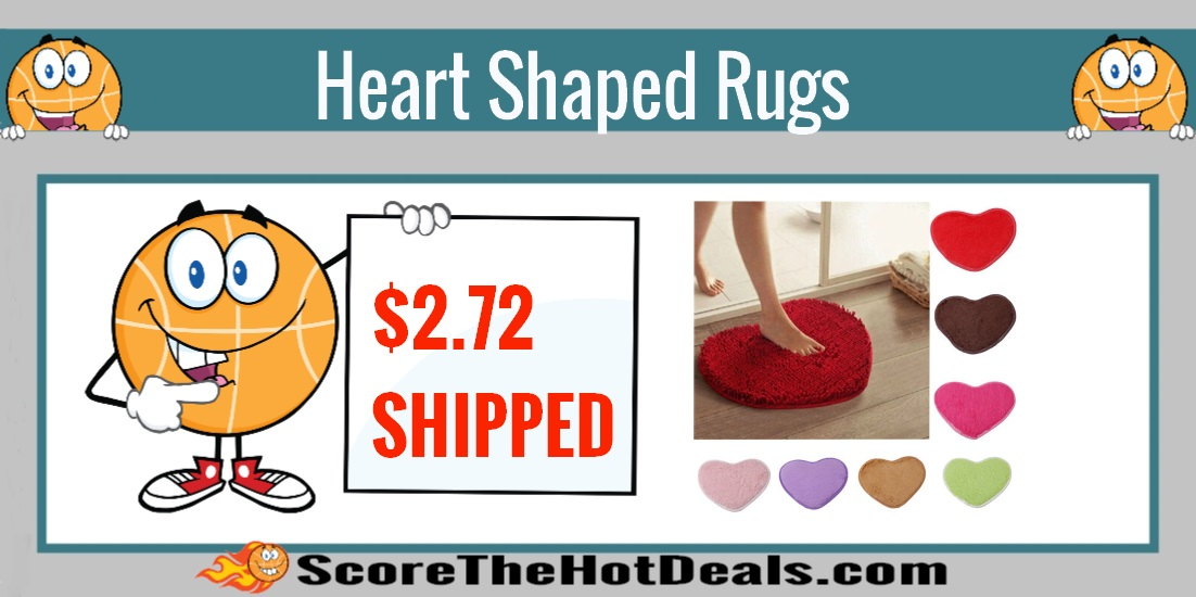 Heart Shaped Rugs