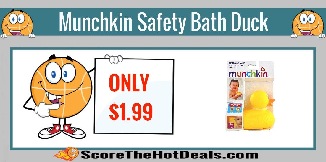 Munchkin Safety Bath Ducky