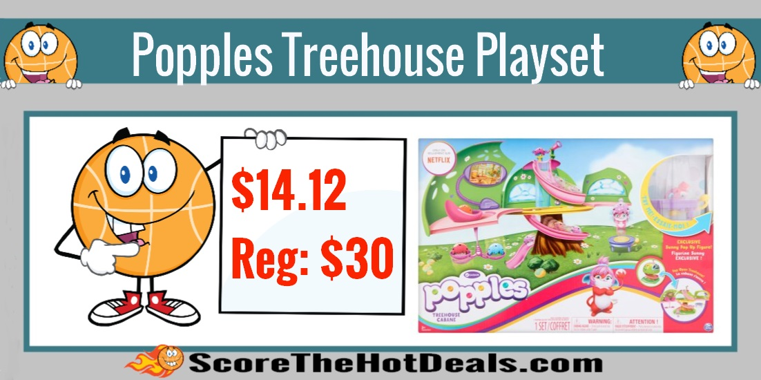Popples Deluxe Treehouse Playset