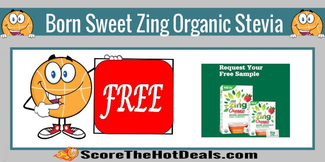Born Sweet Zing Organic Stevia