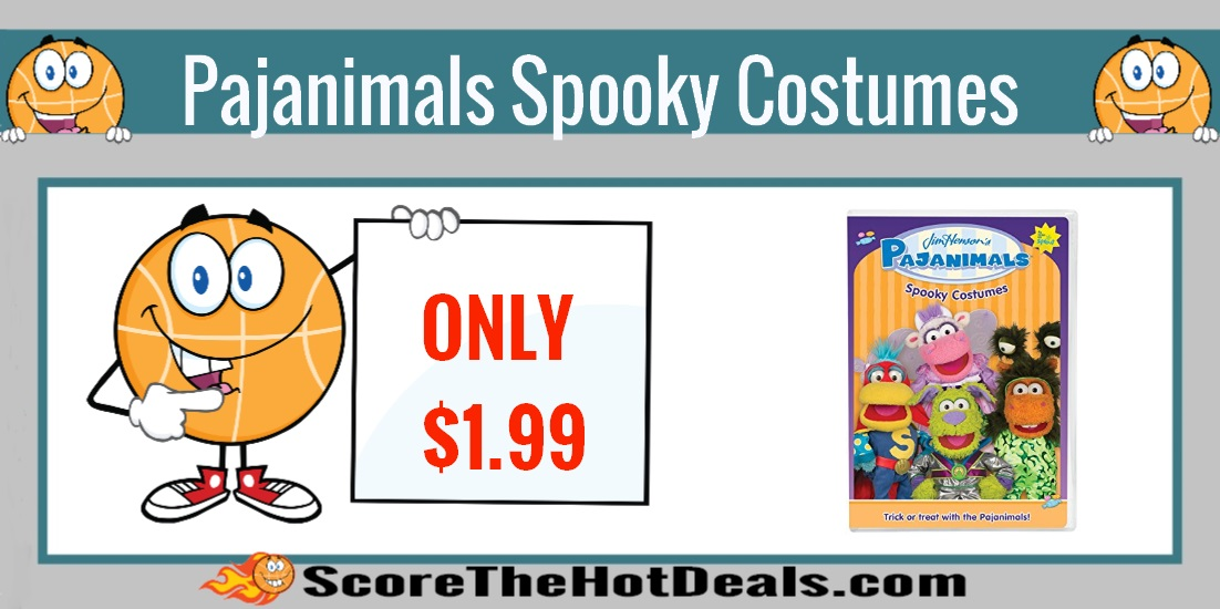 Pajanimals Spooky Costumes DVD