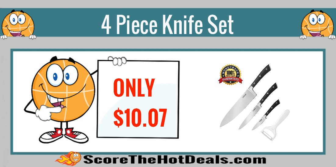 4 piece knife set