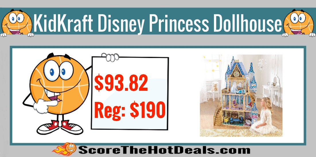 KidKraft Disney Princess Dollhouse