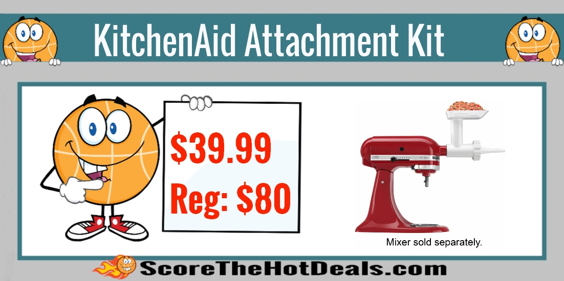 KitchenAid Food Grinder And Sausage Stuffer Attachment