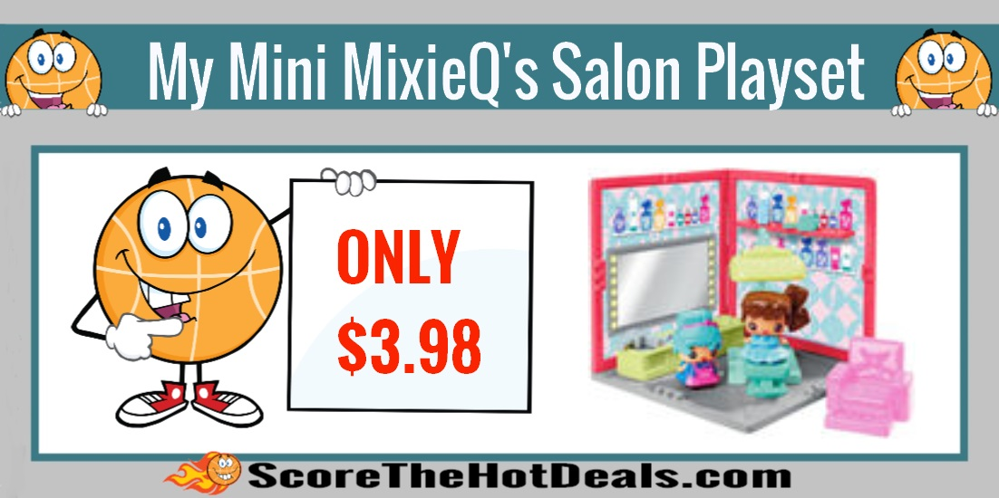 My Mini MixiQ's Beauty Salon Playset