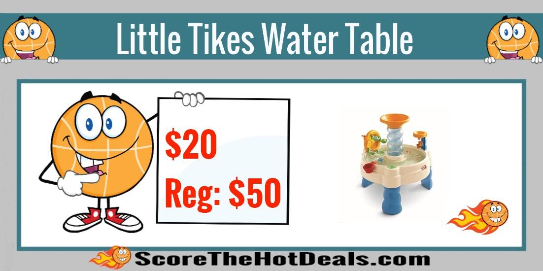Hurry Little Tikes Spiralin Seas Waterpark Play Table