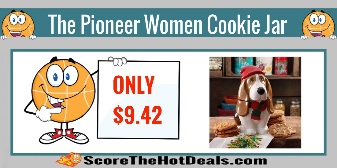 The Pioneer Woman Holiday Charlie Cookie Jar